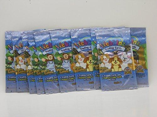 Webkinz Trading Cards-10 packs(Series 1) Webkinz Series 1 Trading Cards