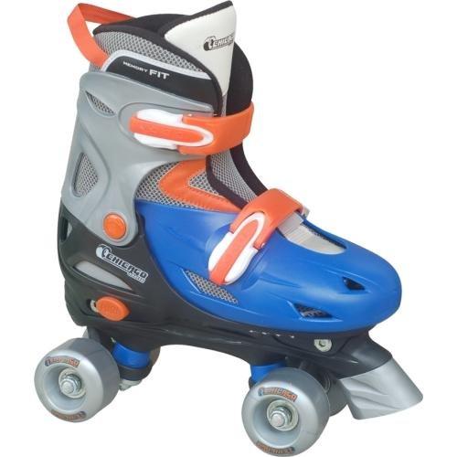 Chicago Boy's Adjustable Quad Roller Skate, Blue/Silver from Chicago Skates