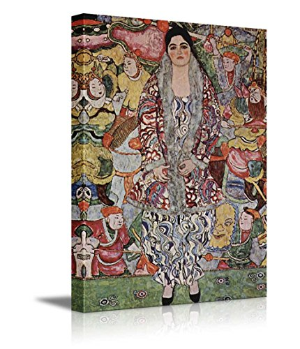Portrait of Friederike Maria Beer by Gustav Klimt Austrian Symbolist Painter