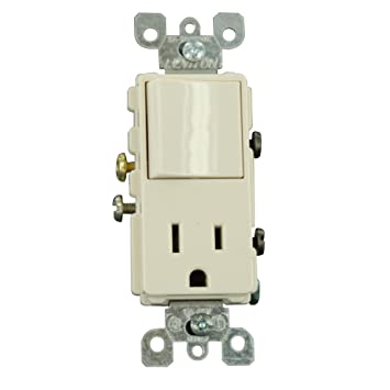 leviton tsp amp volt combination decora switch and leviton 5625 tsp 15 amp 125 volt combination decora switch and receptacle