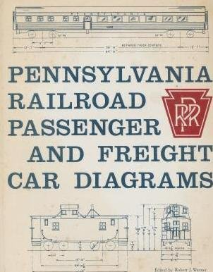 Pennsylvania Railroad Passenger and Freight Car Diagrams