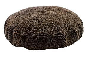 B00HZNPYVAGHU Soggy Doggy 36-Inch Super Snoozer Bed, Large, Dark Chocolate