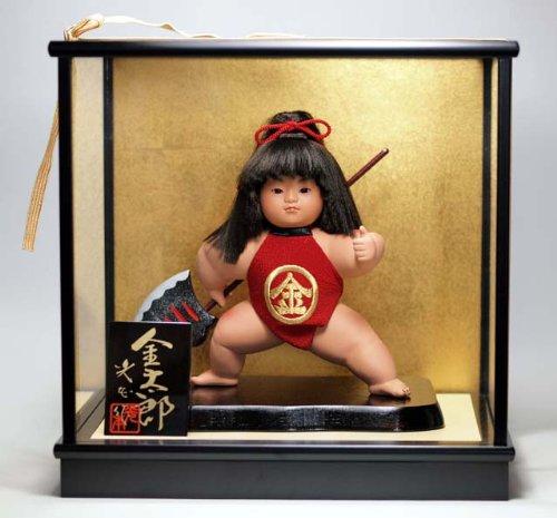 武者人形五月人形 金太郎 鉞 五月人形 B00HV2ZN98  - -