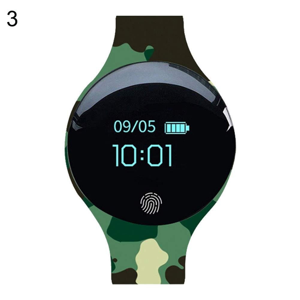good01 Montre connectée de Sport avec écran Tactile Bluetooth pour Rappel dappel, podomètre, 2: Amazon.fr: Sports et Loisirs