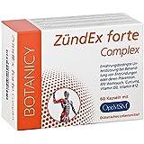 Kapseln mit organischem Schwefel - ZÜNDEX forte Complex mit OptiMSM® - hochdosiertes MSM - mit Kurkuma, Weihrauch, Ingwer & Myrrhe - 60 Kapseln - keine Tabletten