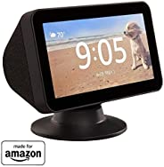 Made for Amazon Tilt + Swivel Stand for the Echo Show 5 - Black
