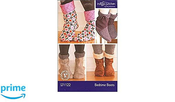 From Indygo Junction NEW BEDTIME BOOTS SEWING PATTERN