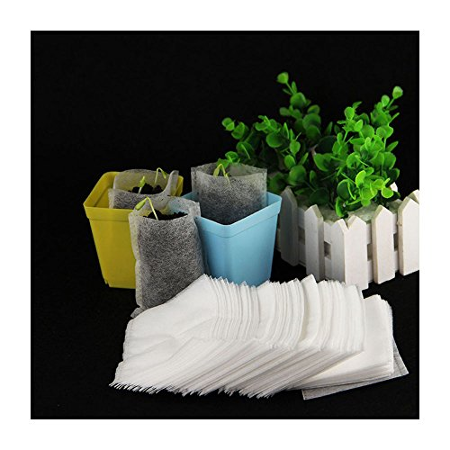 6STARSTORE 100Pcs/Pack Garden Supplies Environmental Protection Nursery Pots Seedling Raising Bags 810Cm Fabrics Hot Sale In Russia by 6STARSTORE