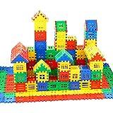 DEJUN Interlocking Building Blocks Toys for Kids - Building Blocks for Toddlers Building Blocks Educational Toys Set (70 PCS)