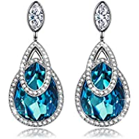 J.NINA Alpine lakes Hypoallergenic Drop Earrings