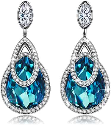 Hypoallergenic Drop Earrings, ♥Christmas Gift♥ with Exquisite Package J.NINA