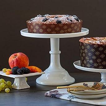 Amazon.com: Redonda para pastel pannetone Papel Pan – 6 1/8 ...