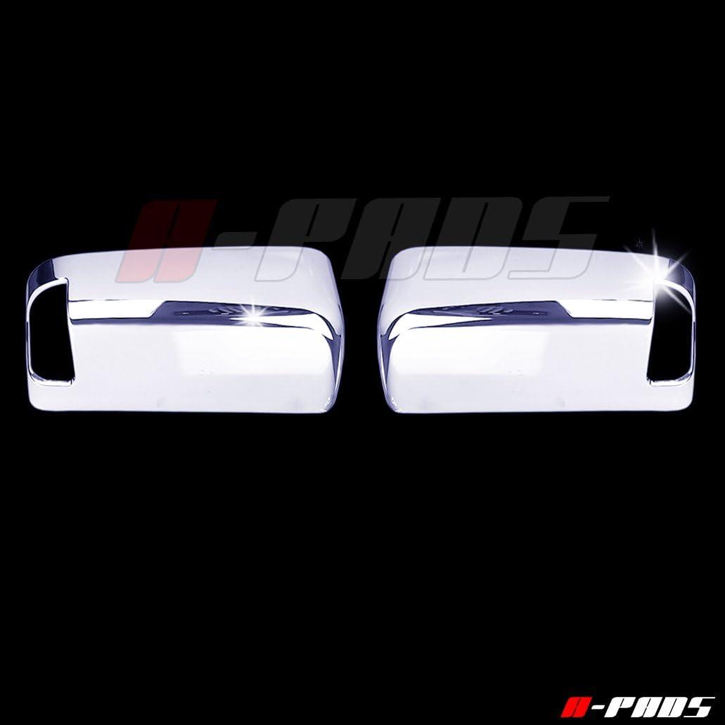For 09 10 11 12 13 14 15 Dodge Ram 1500 2500 3500 Top Half Mirror Chromed Cover
