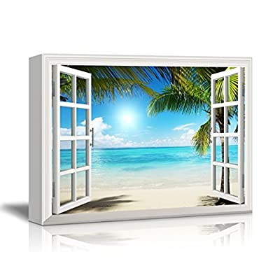 Beautiful Tropical Beach Gallery - Canvas Art Wall Art - 32