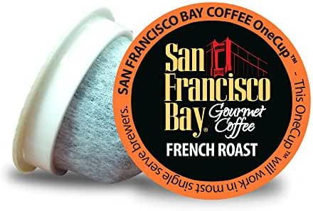 San Francisco Bay OneCup, French Roast, 36 Count- Single Serve Coffee, Compatible with Keurig K-cup Brewers
