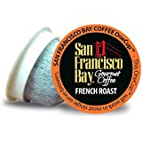 San Francisco Bay OneCup French Roast (36 Count) Single Serve Coffee Compatible with Keurig K-cup Brewers Single Serve Coffee Pods, Compatible with Cuisinart, Bunn, iCoffee Single Serve Brewers
