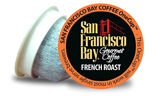 Amazon Lightning Deal 92% claimed: San Francisco Bay Coffee French Roast 36 OneCup Single Serve Cups 36 Count