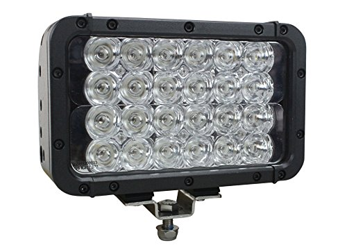 Infrared LED Light Bar - 24 LEDs - 72 Watts - 900'L x 100'W Beam - Extreme Environment(-Spot-940nm-White)