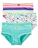 Carter's Girls' 3-Pack Rainbow Striped Panties 2/3