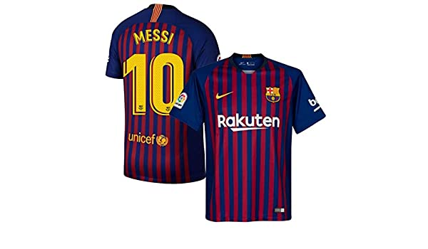 a612d8d76ea67 Amazon.com : ProApparels Messi Jersey Barcelona Kids/Youth (Official  2018/2019 Jersey) : Sports & Outdoors