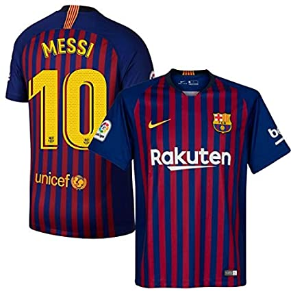 336457f6eb5e3 ProApparels Messi Jersey Barcelona Kids/Youth (Official 2018/2019 Jersey)  (YXL