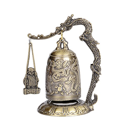 - I-MART Asian Oriental Zen Art Brass Desks Desktop Dragon Chinese Gong Style 2