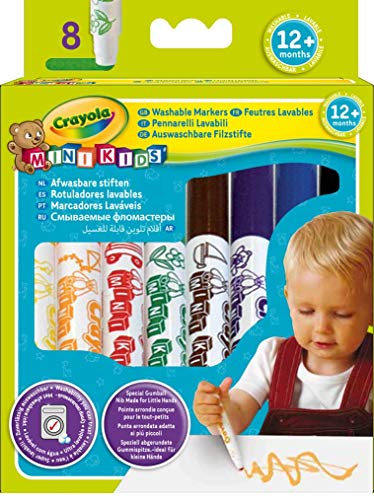 Crayola Set of 8 first markers (Markers Crayola Beginnings)