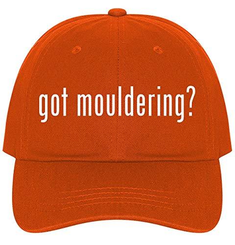 The Town Butler got Mouldering? - A Nice Comfortable Adjustable Dad Hat Cap, Orange ()