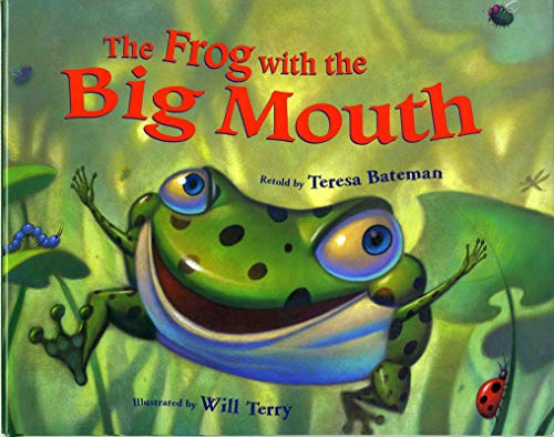 Frog Terry - The Frog with the Big Mouth