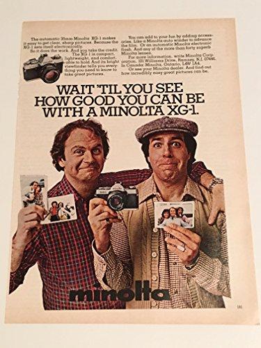 1980 Minolta Xg 1   Weathermatic A Magazine Print Advertisement Lot Of 2