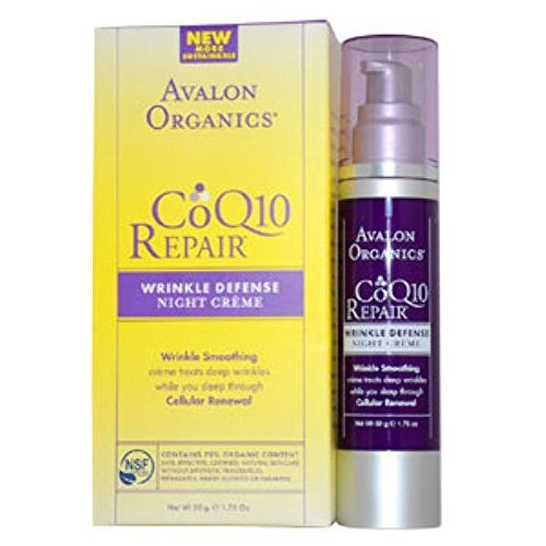 Avalon - Organics CoQ10 Repair Wrinkle Defense Night Creme (1.75 oz.) 1 pcs sku# 1899055MA