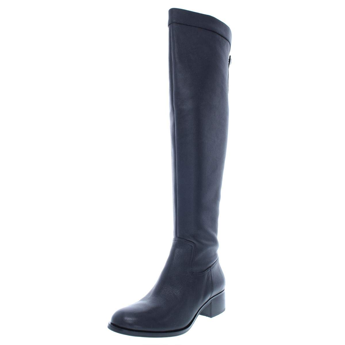 Michael Michael Kors Womens Finn Over-The-Knee Boots Black 7.5 Medium (B,M) by Michael Michael Kors