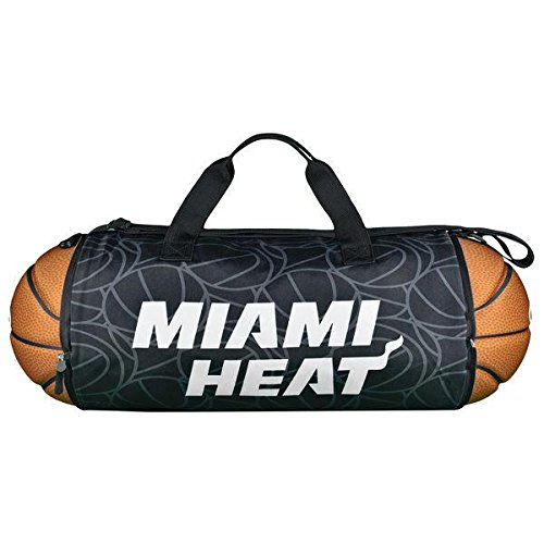 (MIAMI HEAT BASKETBALL TO DUFFLE AUTHENTIC)