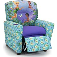 Kidz World 446605 Disneys Fairies Kids Recliner, Multi-Colored