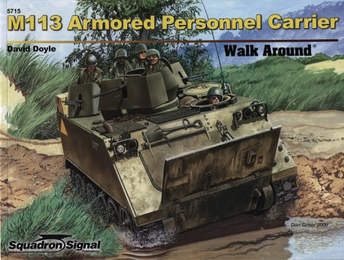 M113 Armored Personnel Carrier - Walk Around Color, used for sale  Delivered anywhere in USA