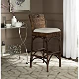 Safavieh Home Collection Fremont Brown Barstool