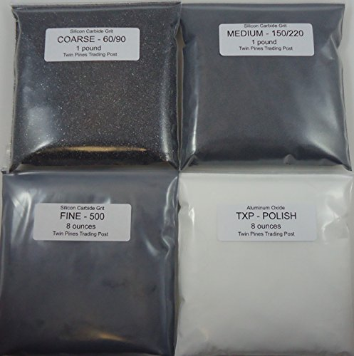 Rock Tumbler Grit for 15 pound Tumbler