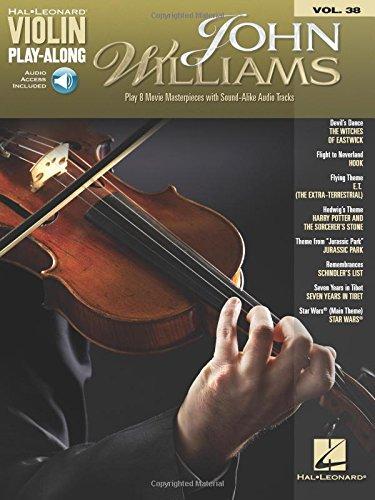 John Williams: Violin Play-Along Volume 38 (Hal Leonard Violin Play-Along) Bk/Online Audio