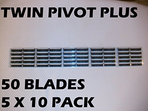 Personna - Twin Pivot Plus (50 Blades/Order) Replaces Auto Plus, Fits Atra Razors