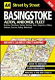 Basingstoke, Alton, Andover, Fleet, AA Publishing Staff, 0749526157