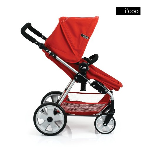 Hauck Doll Stroller Pram With Adjustable Handle I Coo Grow