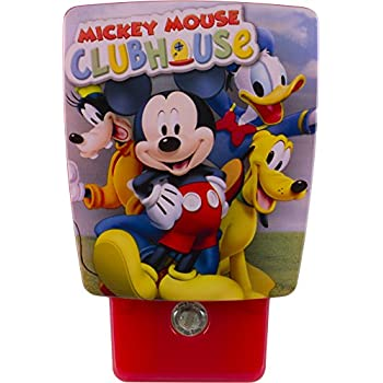 Disney Wraparound Led Shade Night Light Mickey Mouse