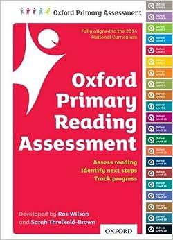 Oxford Primary Reading Assessment Handbook