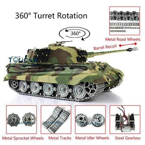 Henglong 1/16 6.0 Customized King Tiger RC Tank