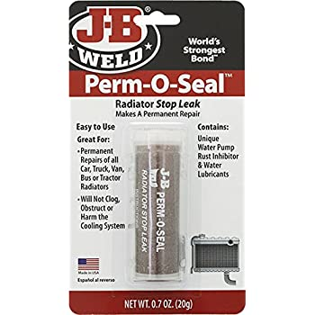 J-B Weld DS-114 PERM-O-SEAL Radiator Stop Leak - 0.7 oz.