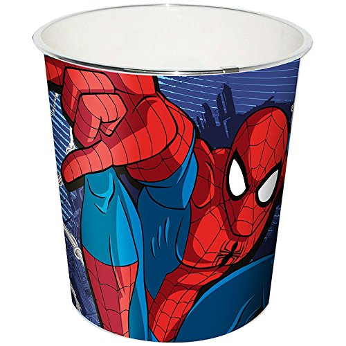 Kids Licensing Pattumiera Spiderman Marvel