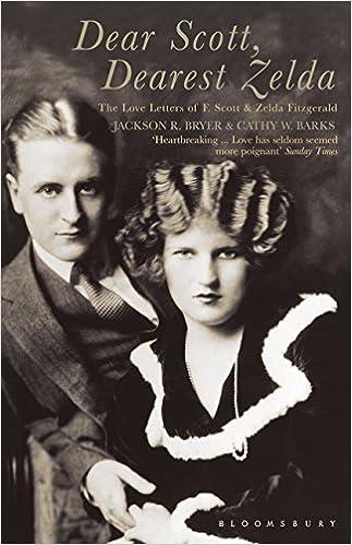 F Scott Fitzgeralds Formerly Fresh >> Dear Scott Dearest Zelda The Love Letters Of F Scott And Zelda