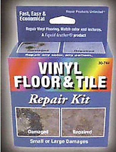 Liquid Leather Vinyl Floor and Tile Repair -