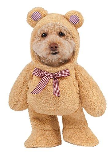 Walking Teddy Bear Pet Costume - Medium (Bear Costume For Dogs)