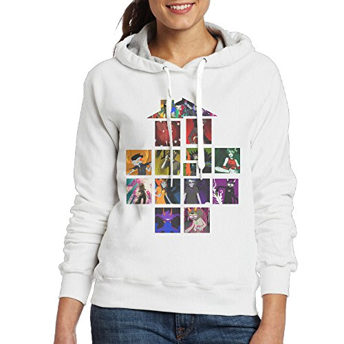 Price comparison product image Homestuck Women's Hoodie XL White
